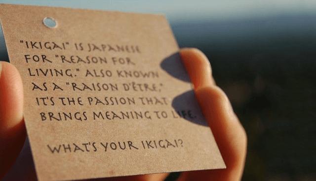 Ikigai-card